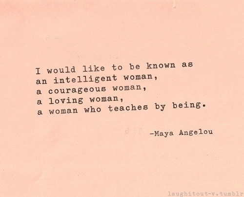 Maya Angelou Quotes And Sayings: In The Light Of The Write